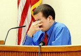 JUAN DALE BROWN/TREASURE COAST NEWSPAPERSJacob Brighton, on trial for murdering his parents in 2007, took the stand on Monday morning, testifying that his father molested him and that his mother did nothing to protect him.